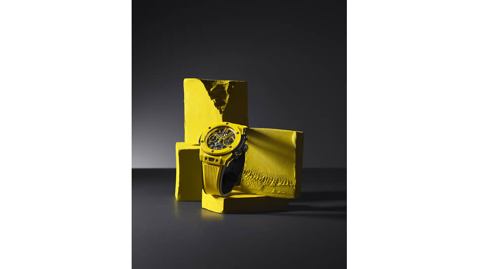 Hublot Big Bang Unico Yellow Magic. Корпус из желтой керамики. 250 экземпляров