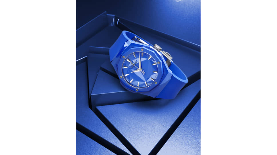 Hublot Classic Fusion Richard Orlinski 40 mm Blue Ceramic