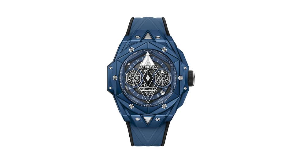 Hublot Big Bang Sang Bleu II Blue Ceramic. 200 экземпляров