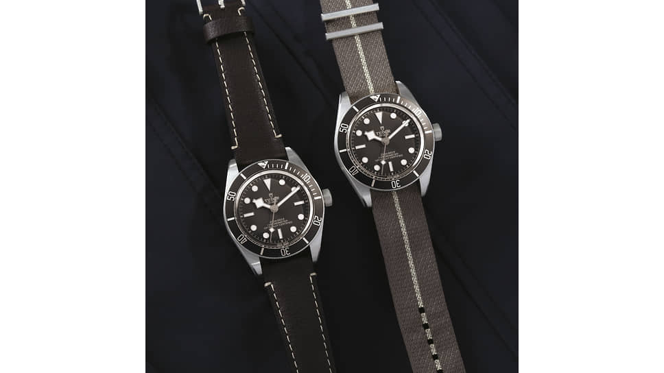 Tudor Black Bay Fifty-Eight 925. Корпус из серебра, мануфактурный механизм с автоматическим подзаводом