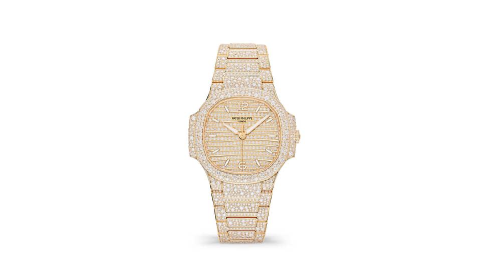 Patek Philippe Nautilus 7118/1450R. Корпус и браслет из розового золота с 2553 бриллиантами