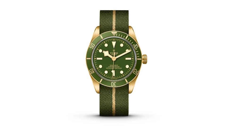 Tudor, часы Black Bay Fifty-Eight, 39 мм, желтое золото, механизм с автоматическим подзаводом, запас хода 70 часов, водонепроницаемость 200 м