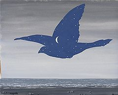 Рене Магритт. «Поцелуй», 1957 год. Christie's, эстимейт £600–800 тыс.