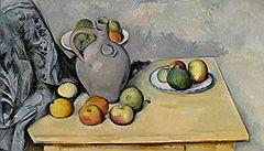 Поль Сезанн. «Кувшинчик и фрукты на столе», 1893–1894 годы. Sotheby's, эстимейт £10–15 млн