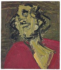 Фрэнк Ауэрбах. «Голова Д.Й.М.», 1973 год. Christie's, эстимейт £0,9–1,2 млн