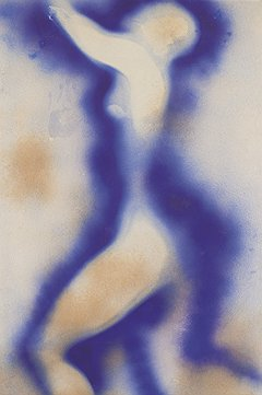 Ив Кляйн. «Антропометрия (ANT 5)», 1962 год. Christie's, эстимейт £1,5–2 млн