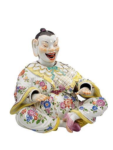 «Китаец», фигурка с подвижными головой и руками. Иоганн Кендлер, около 1731 года