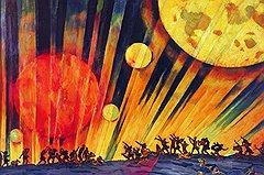 Константин Юон. «Новая планета», 1921 год