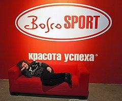 Режиссер Николай Хомерики во время хоккейного матча между сборными России и Канады в клубе «Коммерсантъ»