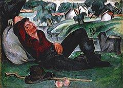 «Спящий мальчик», 1911 год