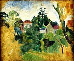 Робер Делоне. «Неоконченный пейзаж», 1909 год, эстимейт $35–45 тыс.