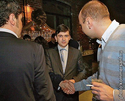 Замминистра экономического развития России Станислав Воскресенский (в центре)