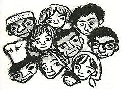 Иллюстрация из книги «Взгляд кролика»