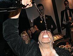 Журналист Игорь Свинаренко на праздновании 15-летия журнала «Медведь» в ресторане FBR