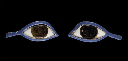 Глаза из цветного стекла для инкрустации. Древний Египет, 664–332 годы до н. э. Эстимейт £4–5 тыс.
