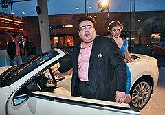 Политик Алексей Митрофанов на презентации Maserati GranCabrio в «Барвиха Luxury Village»