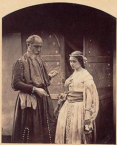 «Шейлок и Джессика», около 1860 года