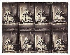 «Мадам Сильви» (контрольный лист), около 1865 года