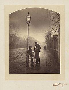 «Сумерки», 1859 год. Из серии этюдов «Свет»