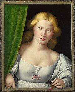 Североитальянский мастер. «Женщина у окна», 1510–1530 годы. После реставрации