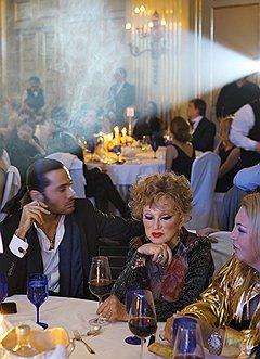 Актриса Людмила Гурченко на благотворительном аукционе Charity Bazaar в отеле The Ritz-Carlton Moscow