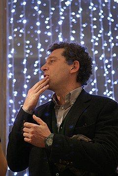 Предприниматель Александр Мамут на праздновании дня рождения кинотеатра «Пионер»