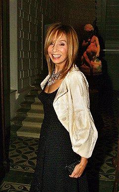 Журналист Алена Долецкая на открытии выставки «Louis Vuitton. Искусство моды» в «Доме Спиридонова»