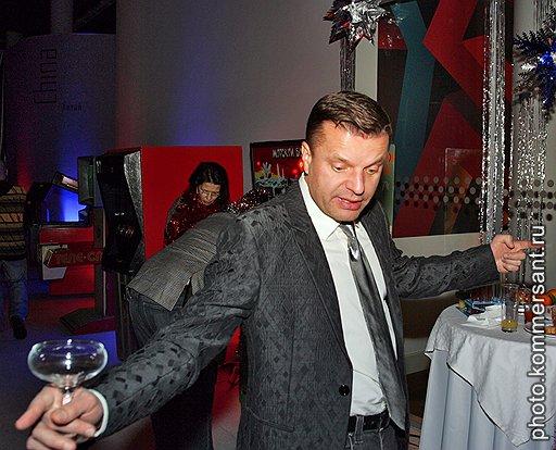 Тележурналист Леонид Парфенов на Bosco-балу в школе управления «Сколково»