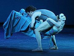 Сильвия Аццони иКарстен Юнг. Галаконцерт лауреатов Benois de la Dance наНовой сцене Государственного академического Большого театра, 2008 год