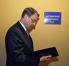 Министр культуры Александр Авдеев на церемонии вручения  премии «Золотой орел»