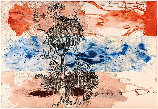 «Дом на дереве», из цикла «Мы обыватели! Современники и современницы», 1976год