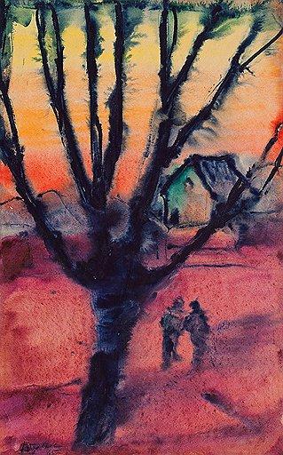"""""""Сухуми. Вечер"""", 1965 год"""
