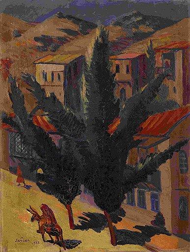 """Мартирос Сарьян. """"Улица кавказского города (Тифлис)"""", 1927 год. Эстимейт £200-300 тыс."""