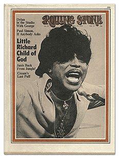 Обложка журнала Rolling Stone, номер 59 от 28 мая 1970 года (Литл Ричард)