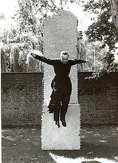 "Беньямин Кац. ""Отец Фридхельм Меннекес"". Кельн, 1985 год"