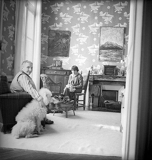"Сесил Битон. ""Гертруда Стайн и Эллис Б. Токлас"", 1938 год"