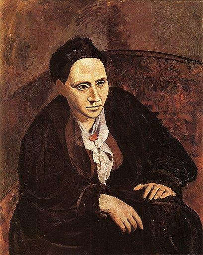 """Пабло Пикассо. """"Портрет Гертруды Стайн"""", 1906 год"""