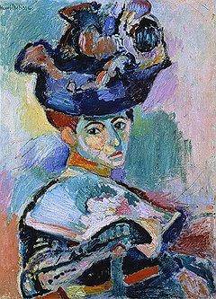 """Анри Матисс. """"Женщина в шляпе"""", 1905 год"""
