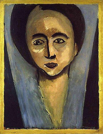 """Анри Матисс. """"Сара Стайн"""", 1916 год"""