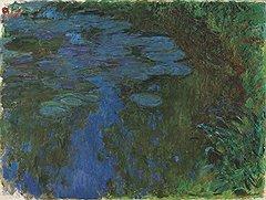 Клод Моне. «Кувшинки», около 1914–1917 годов. Холст, масло. Christie's, эстимейт £17–24 млн