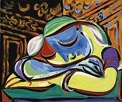 Пабло Пикассо. «Спящая девушка», 1935 год. Холст, масло. Christie's, эстимейт £9–12 млн