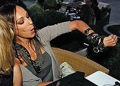 Писательница Татьяна Огородникова на презентации часовой коллекции Dior VIII в Tatler Club