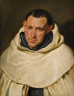 """Антонис ван Дейк. """"Портрет монаха ордена кармелитов"""", первая половина XVII века. Sotheby's, эстимейт £600-800 тыс."""