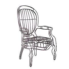 Кресло из коллекции Icons, Jan Plechac