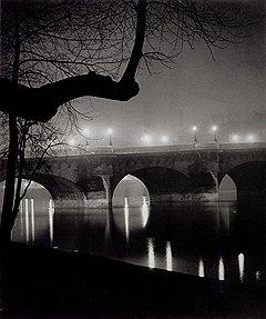 "Брассай. ""Берег Сены"". Париж, 1931 год"