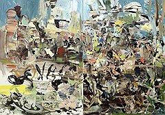 "Сесили Браун. ""Парк"", 2004 год. Phillips de Pury, эстимейт £400-600 тыс."