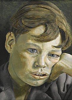 """Люсьен Фрейд. """"Голова юноши"""", 1952 год. Sotheby's, эстимейт £3-4 млн"""