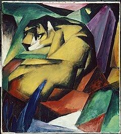 """Франц Марк. """"Тигр"""", 1912 год"""