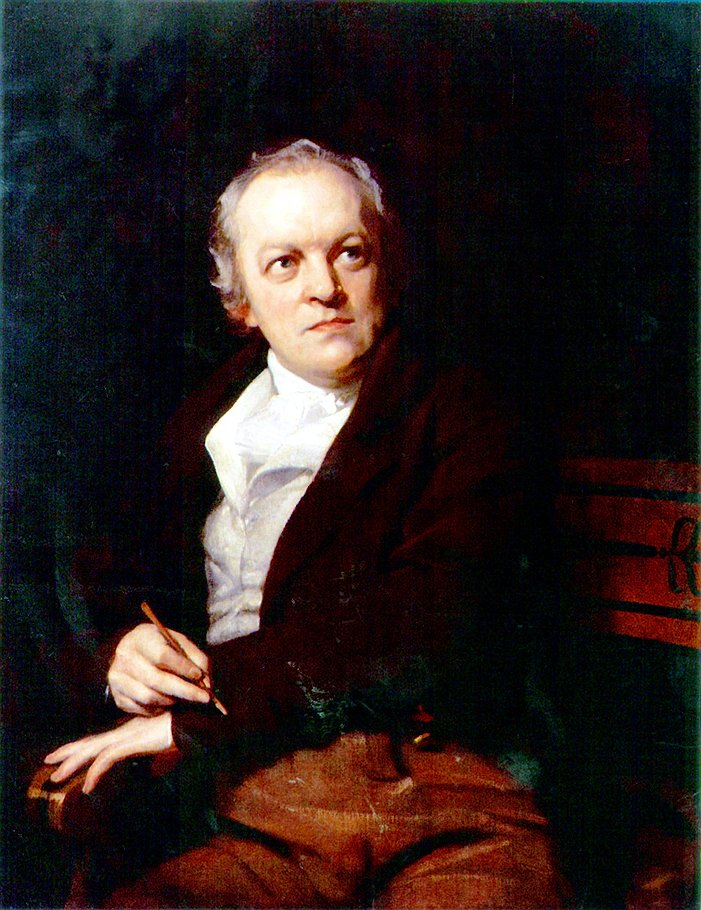 "Томас Филлипс. ""Портрет Уильяма Блейка"", 1807 год"