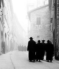 """Виа Портика"", Ассизи, 1958 год"